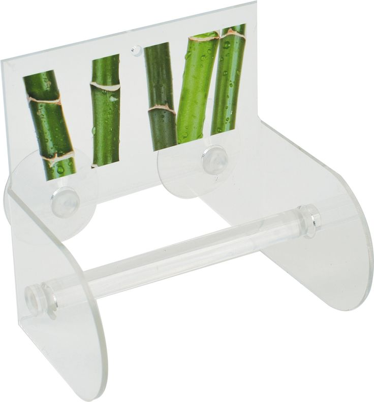Ecobio Wall Mounted Toilet Tissue Paper Roll Holder