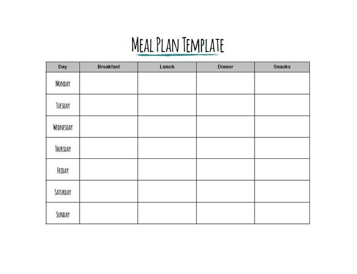 Best 25+ Weekly meal plan template ideas on Pinterest - weekly meal plan