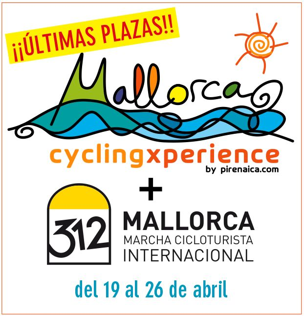 Last places for Mallorca Cycling Xperience + M312! $8 hours left! www.pirenaica.com