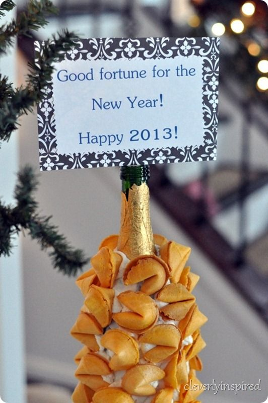 new years eve fortune cookie display @cleverlyinspired (3)