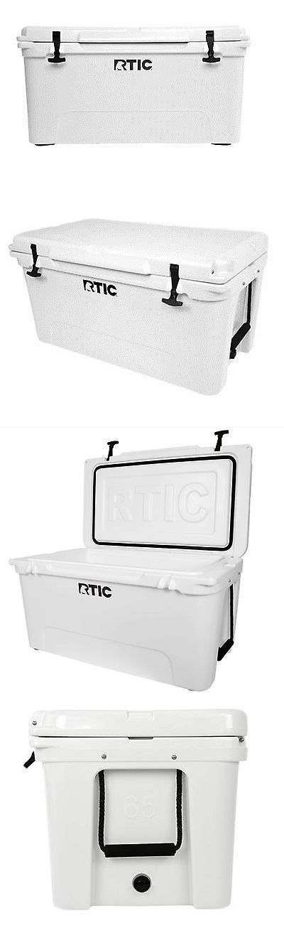 Camping Ice Boxes and Coolers 181382: Rtic Cooler Rtic 65 Artic White Beer Bottle Storage *Free Shipping! BUY IT NOW ONLY: $249.99