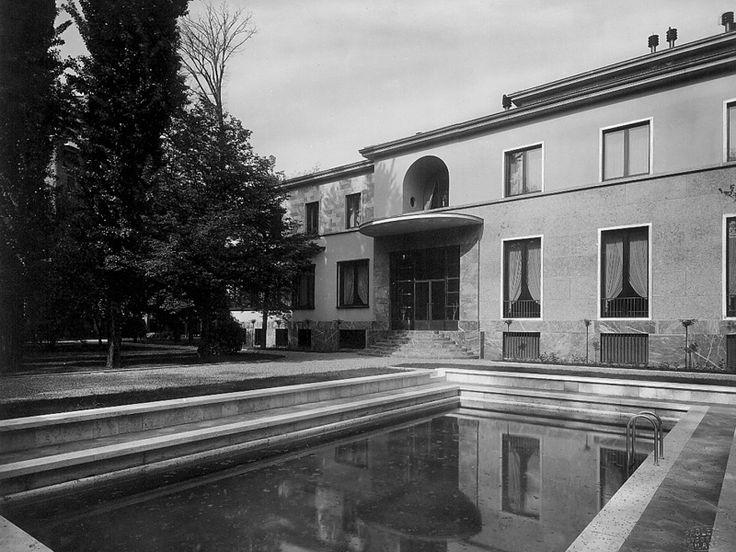 48 best piero portaluppi images on pinterest mansions for Villa mozart milano