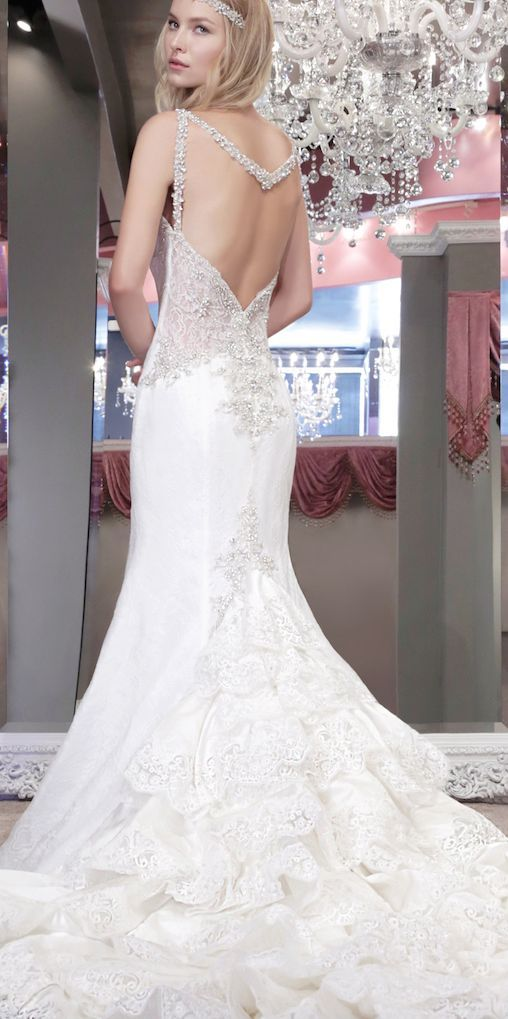 Featured Dress: Winnie Couture; Wedding dress idea.