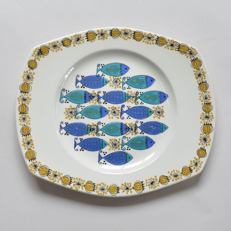 Vintage Turi 'Culpea' Fish Plate