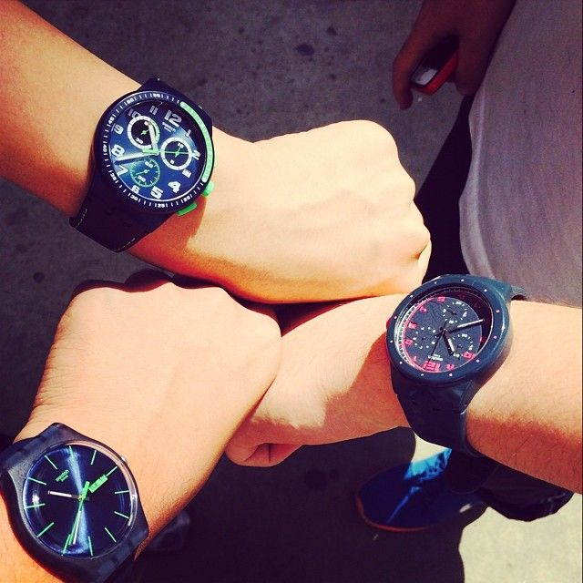 #Swatch: 三个好基友 Swatch Gay Nice Cool
