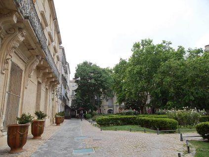 Vue place de la Canourgue Montpellier