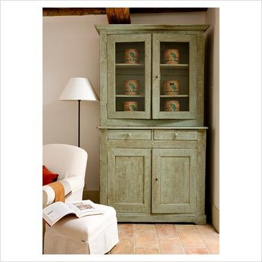 antiqued green one pinner saysfound this at