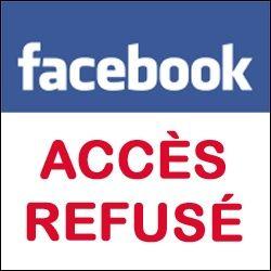 Bloqué par Facebook: quoi faire ?