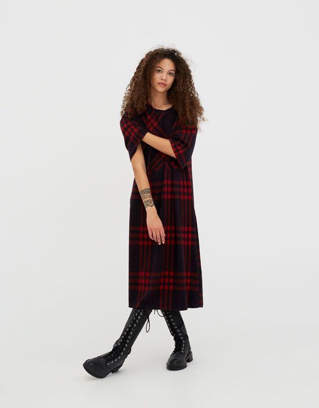 Vestito Lungo A Quadri Fashion Clothes For Women Dresses