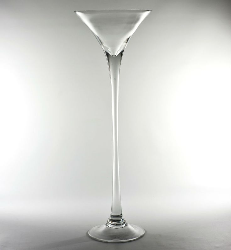 Quot cheap price on discounted tall glass martini vase at