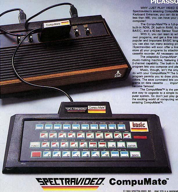 Atari VCS Spectravideo Compumate