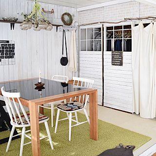 押し入れ改造のインテリア実例 | RoomClip (ルームクリップ) Bedroom/DIY/セリア/和室をセルフリフォーム/押し入れ改造/和室を