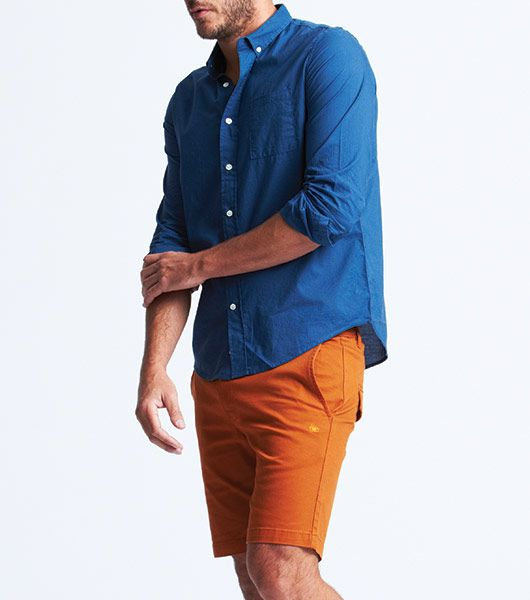 Venroy - Teal Cotton Shirt