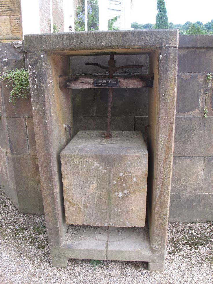An old Cheese press #Chatsworthhouse #Derby #Peakdistrict