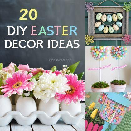 20 DIY Easter ideas