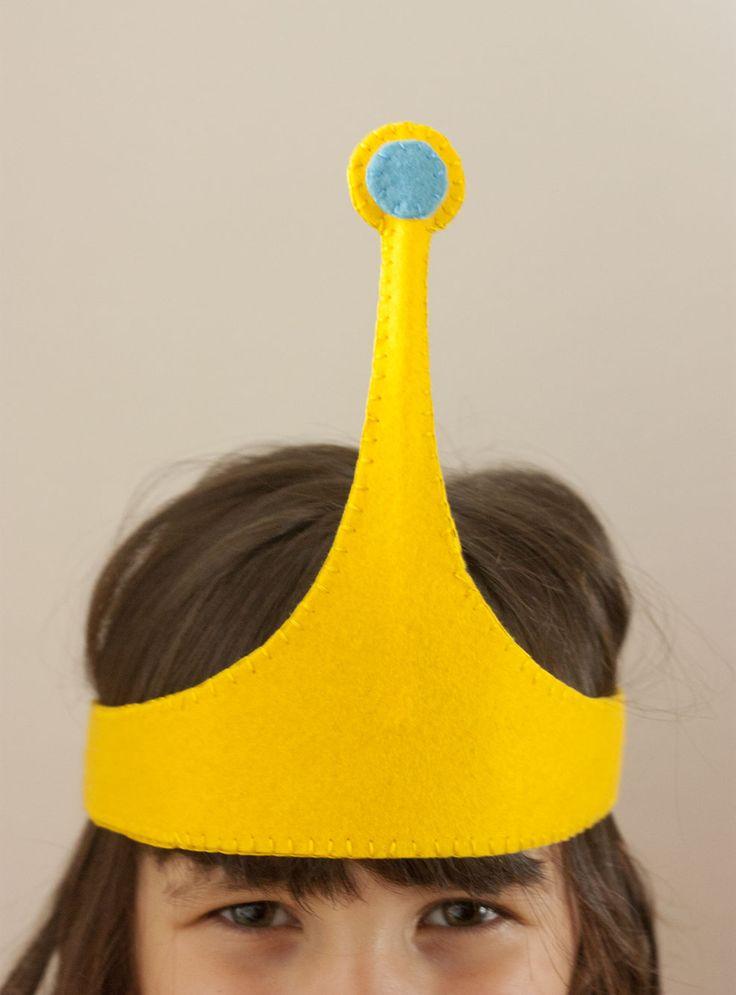 Cómo hacer la diadema de la Princesa Chicle de Hora de Aventuras (plantilla incluida) // How to make Princess Bubblegum crown from Adventure...