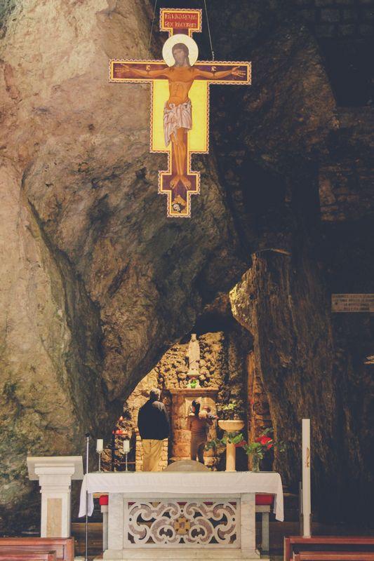 La Grotta nel Santuario di Santa Lucia di Sassinoro