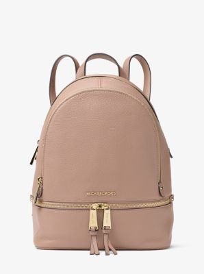 Find the Zaino Rhea piccolo in pelle by Michael Kors at Michael Kors.