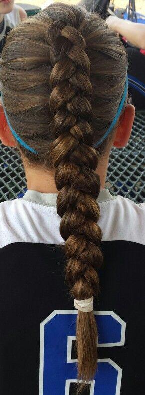 Sports hair.- Jill Walden