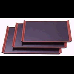 Serving Tray      Availability : In Stock     Dimentions : 425mm x 307mm X 20mm     Pieces Per Item : 1     Colour : Black with Red Trim     Material : ABS & Melamine     Finish : Laquer     Item Code : ST-20M     Weight : 750g  Price : $16.95