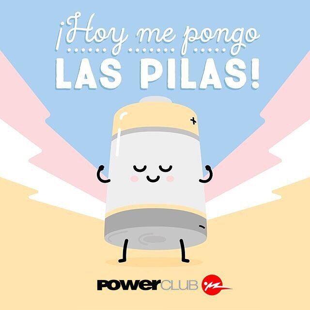 Así deben ser todos los #Lunes con las pilas puestas @powerclubpanama #YoEntrenoEnPowerClub