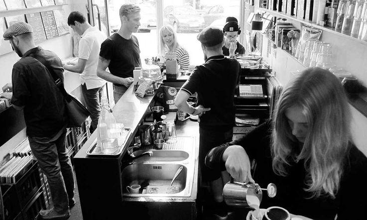 Sort Kaffe & Vinyl
