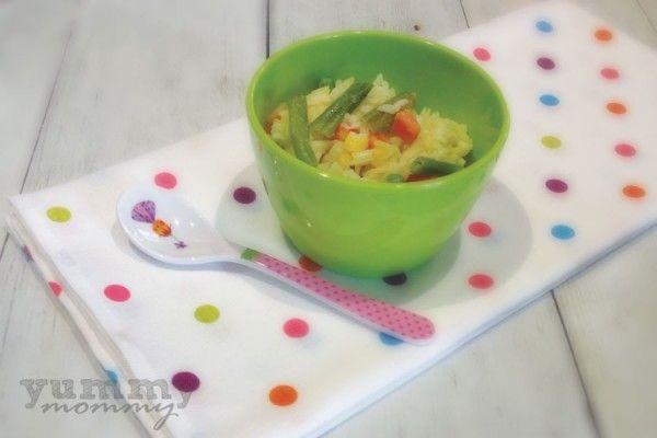 {basmati with vegetables} ρύζι basmati με λαχανικά