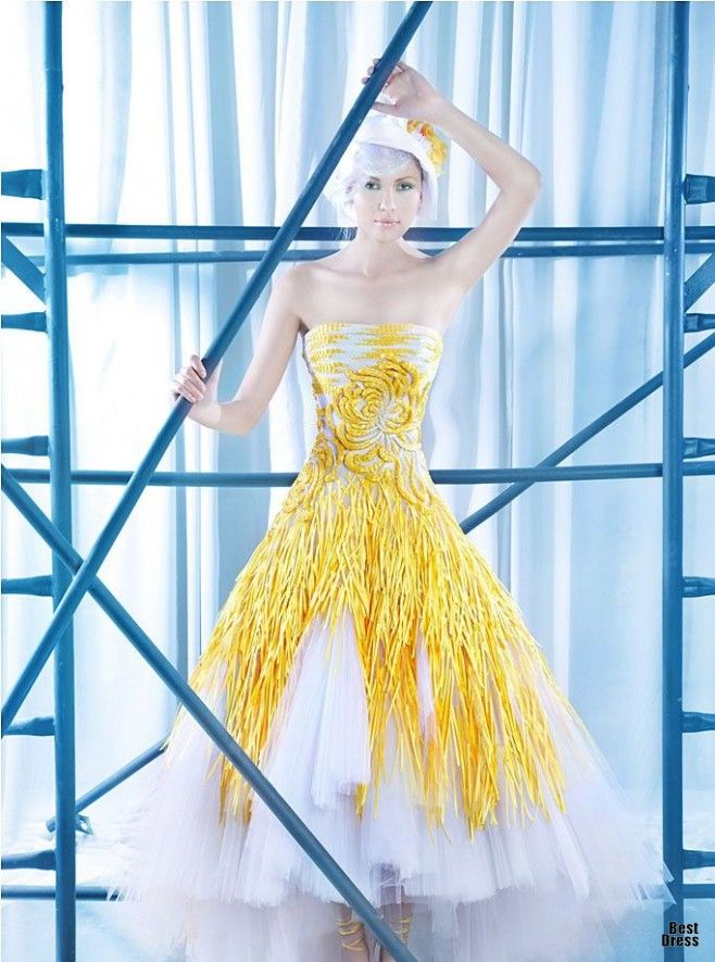 yellow dress by diva meaning