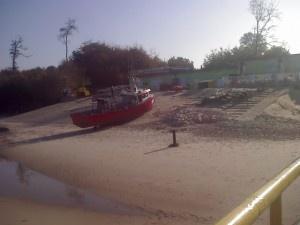 Port rybacki w Ustroniu Morskim