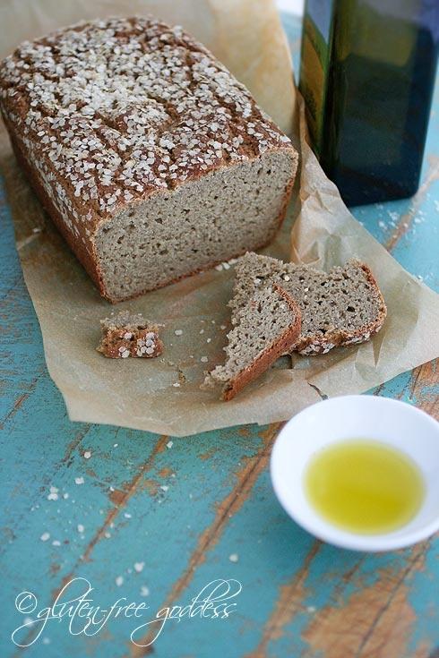 Gluten-Free Bread and Tea Bread Recipes: Gluten Fre Breads, Teas Breads, Breads Recipes, Gluten Fre Goddesses, Whole Grains, Grains Gluten Fre, Glutenfree, Gluten Free Breads, Free Recipes