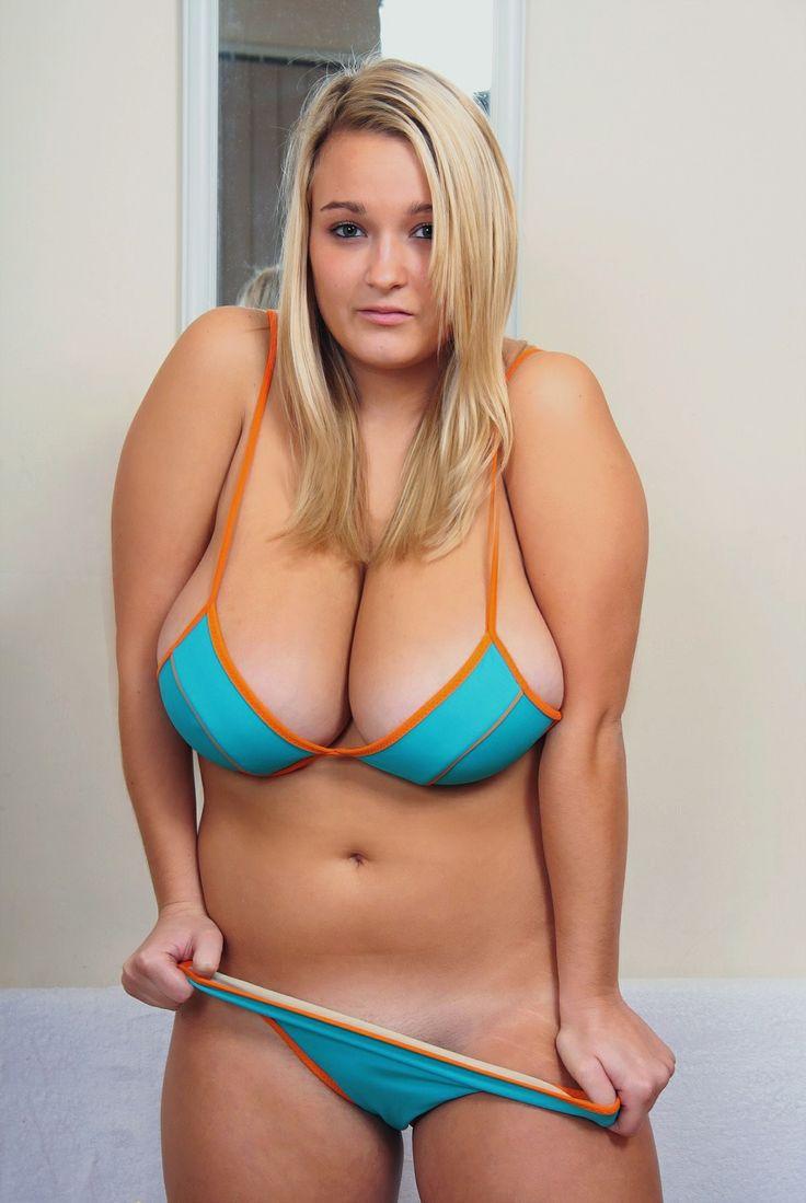 Beauty plus size bikini adult don't