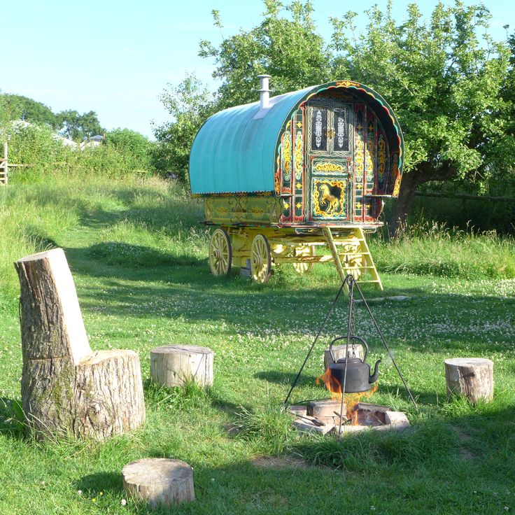 www.gypsycaravanbreaks.co.uk  If you're looking for a little romance in your life this is the place to go.