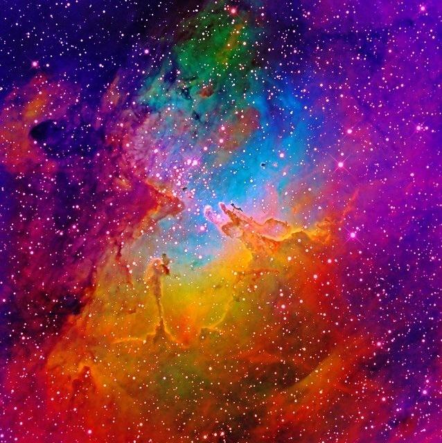 m16 eagle nebula face - photo #8