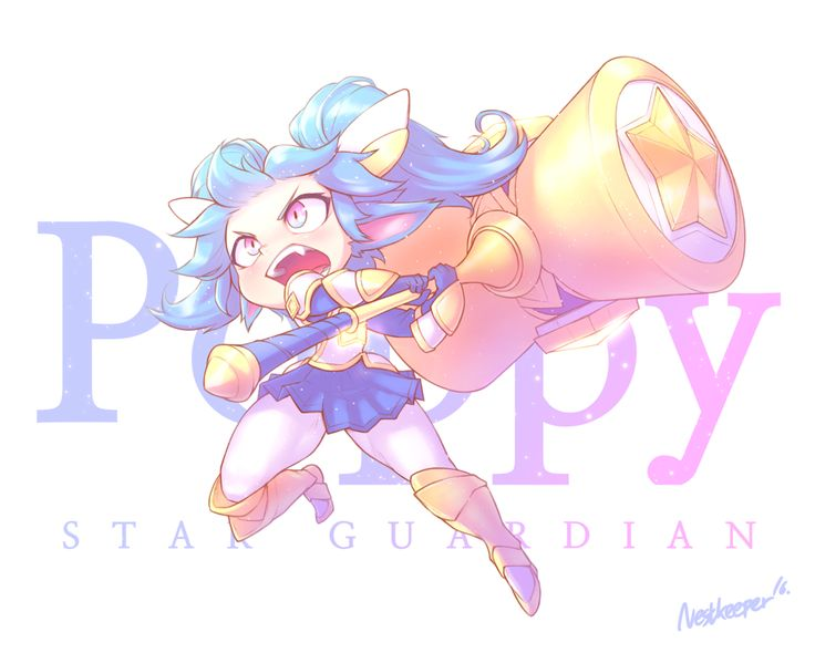 Star Guardian Poppy by Nestkeeper on DeviantArt