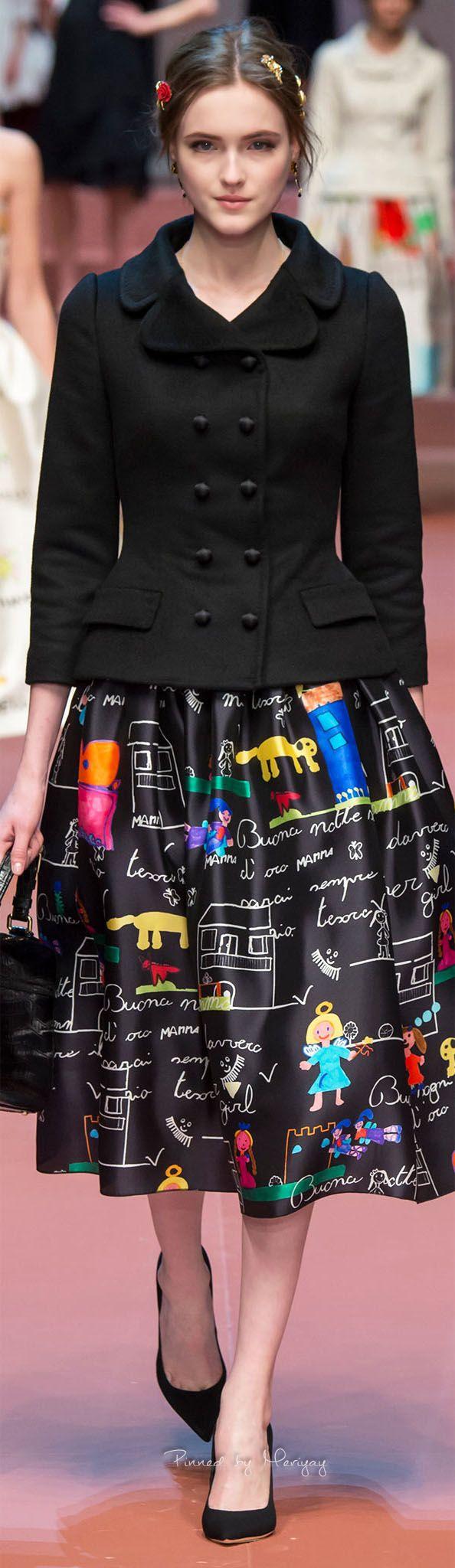 Dolce & Gabbana.Fall 2015.
