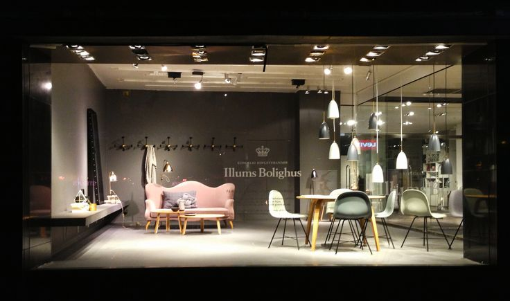 Furniture Store Window Displays Window Display At Illums Furniture Store Displays Pinterest