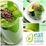 Green mint shake