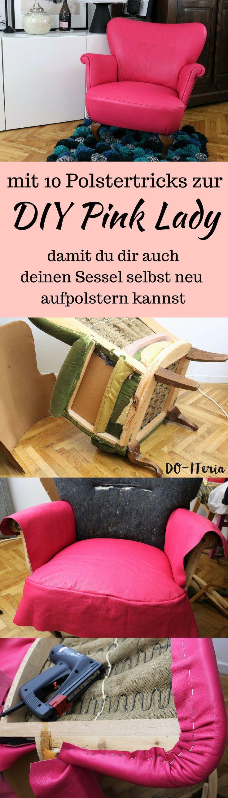 Repeat Act Armchair Upholstery – 10 Polstertricks für Ihre eigene Pink Lady
