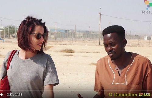 Dandelion Salad with Abby Martin teleSUR English on Mar 31, 2017 While the Israeli state espouses multiculturalism and diversity, it oppresses not just the Palestinian population, but also any Blac…