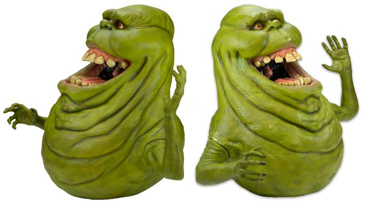 New Life-Size Slimer Replica Created Using The Original GHOSTBUSTERS Character Molds: Check out this 3-foot-tall… #Neca #Ghostbusters