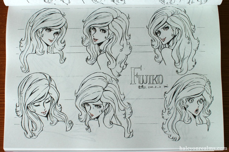 Character Design Quarterly Review : Best fujiko mine 峰不二子 images on pinterest third