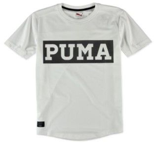 Puma Mens Ringer Graphic T-Shirt whiteblack L