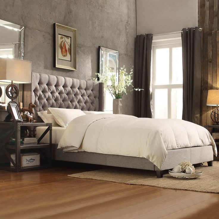 Best 25+ Tufted Bed Ideas On Pinterest