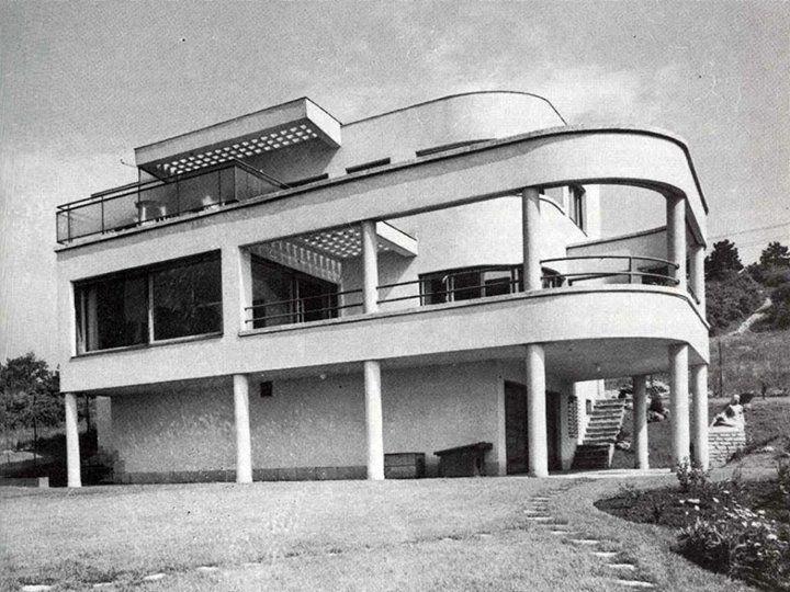 Fischer József- Járitz villa, Budapest 1930-1939.