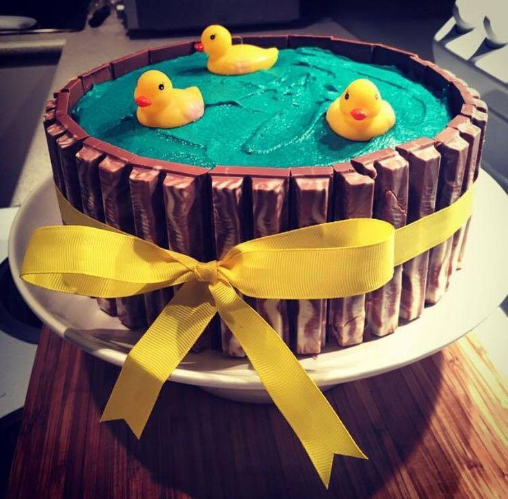 Duck Pond Cake.