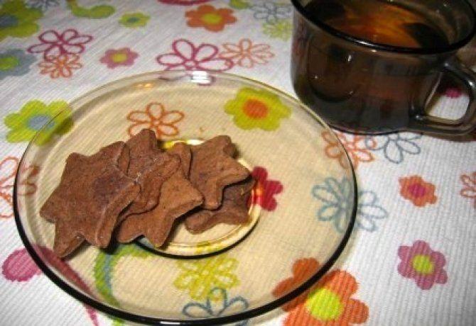 Omlós kakaós keksz tojásmentesen