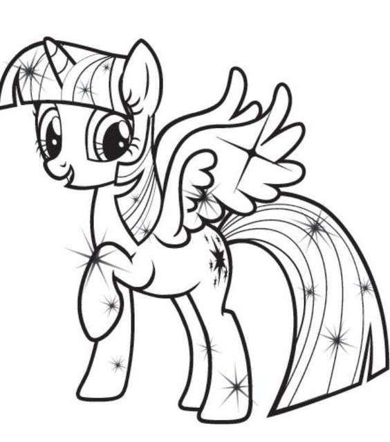 My Little Pony Coloring Pages | My little pony coloring ...