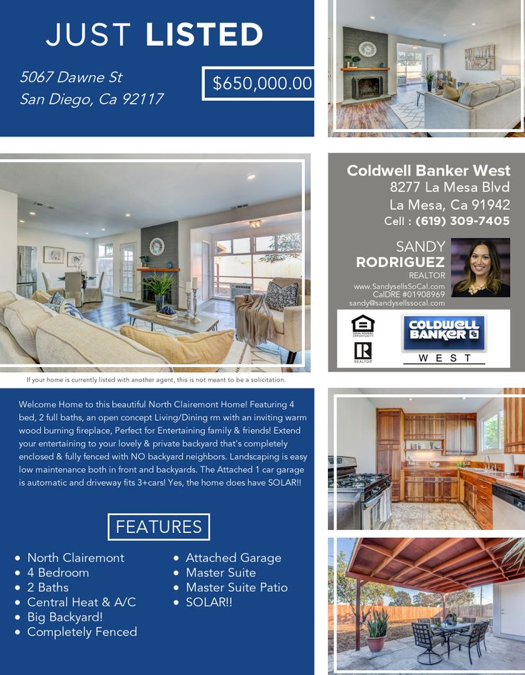 Pin By Sandysellssocal On Socal Real Estate Socal Real Estate Open Concept Realtors