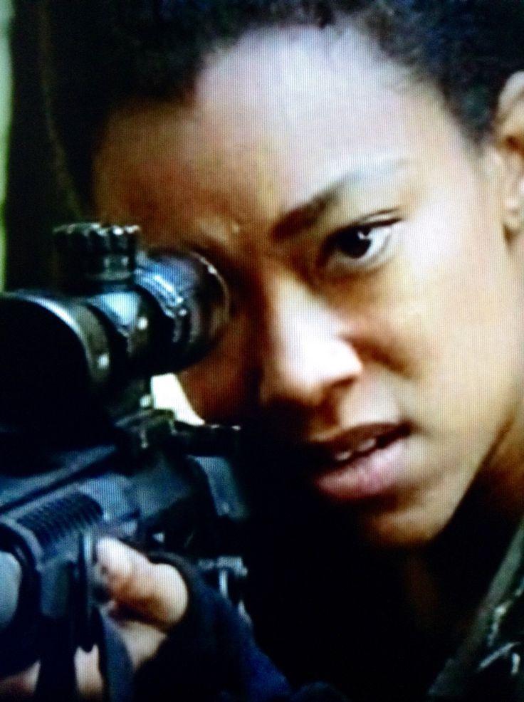 "The Walking Dead 5x15 ""Try"". Sasha (Sonequa Martin-Green)"