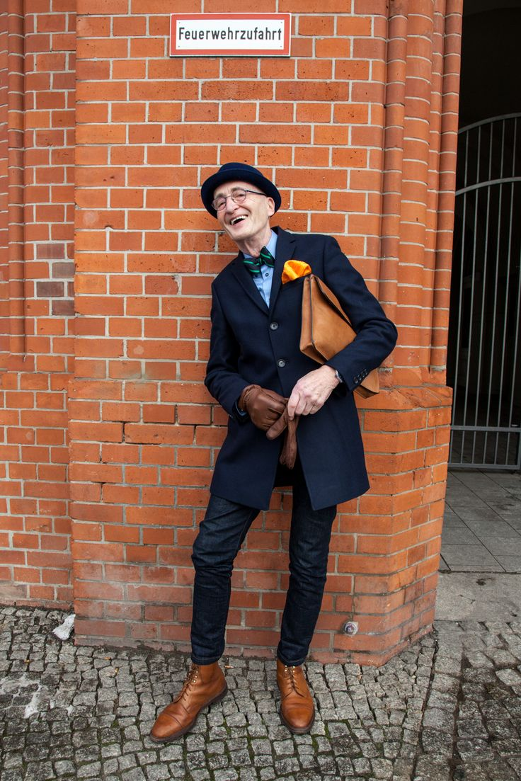 """Fahsion-Rentner"" Günther Krabbenhöft. The Hipster from Berlin #hipster #fashion"